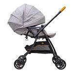 Bonbijou Luxos+ Stroller, Denim Grey