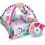 Bright Starts 5 in 1 Your Way Ball Play Activity Gym, Pink