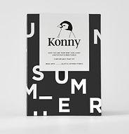 Konny Baby Carrier, Summer Black