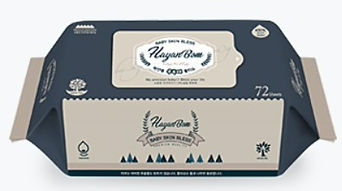 Hayanbom Bless Baby Wipes, Refill, 72s