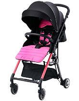 PUKU Convertible Twin Stroller, Pink