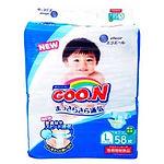 Goo.N Diapers Japan version, L, 58pcs