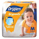 Drypers DryPantz, M, 60pcs