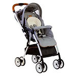 Bonbijou Luxos Light Weight Stroller, Denim Grey