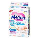 Merries Tape Diaper, NB, 60pcs