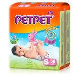 PetPet Tape Diaper, S, 58pcs