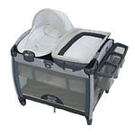 Graco Pack 'n Play Quick Connect Portable Bounce Playard, Taylor