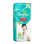 Pampers Baby Dry Pants, XL, 38pcs