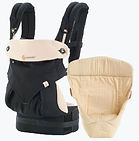 Ergobaby 360 All Positions Baby Carrier, Bundle Of Joy, Black/Camel