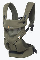 Ergobaby 360 All Positions Baby Carrier, Cool Air Mesh, Khaki Green