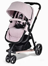 Unilove Touring Pram & Pushchair, Plum Pink