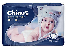 Chiaus Feather Tape, S, 66pcs