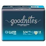 Huggies GoodNites Unisex Bedtime Pants, S/M, 14pcs