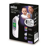 Braun ThermoScan 7 Infrared Ear Thermometer, IRT6520