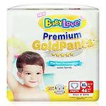 Babylove Premium Gold Pants, XL, 46pcs