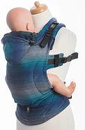 LennyLamb Ergonomic Carrier, Baby Size, Little Herringbone Illusion