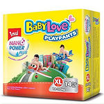 Babylove Playpants Baby Diapers, XL, 14pcs