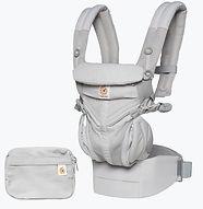 Ergobaby Omni 360 Baby Carrier, Cool Air Mesh, Pearl Grey
