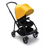 Bugaboo Bee 6 Stroller Complete, Black, Lemon Yellow