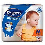 Drypers Wee Wee Dry, M, 74pcs