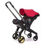 Doona Infant Car Seat Stroller, Flame Red
