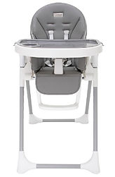 Bonbijou Regan High Chair, Elephant Grey
