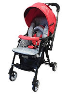 Capella S705T-16 Adonis Travel System Stroller, Red