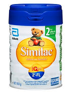 Similac 2'-FL Follow-On Formula, Stage 2, 850g
