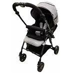 Capella S230F Coni Premium Travel System Stroller, Black