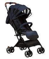 Bonbijou Luke Mini Stroller, Denim Blue