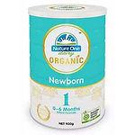 Nature One Dairy Organic Newborn Infant Formula, Step 1, 900g