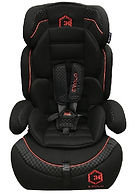 Lucky Baby Evolo Safety Car Seat, Black