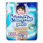 MamyPoko Extra Soft Pants (Boys), XXXL, 14pcs