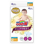 Goo.N Marshmallow Premium Soft Diapers, M, 48pcs