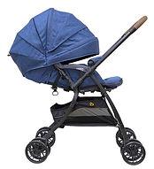 Bonbijou Luxos+ Stroller, Denim Blue