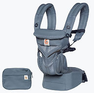 Ergobaby Omni 360 Baby Carrier, Cool Air Mesh, Oxford Blue
