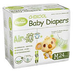Chikool Air Baby Diapers, M, 24pcs