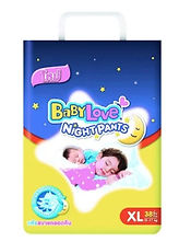 BabyLove Night Pants, XL, 38pcs