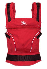 Manduca Pure Cotton Baby Carrier, Chili Red