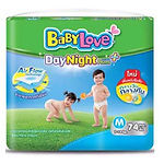 Babylove DayNight Pants Plus, M, 74pcs