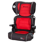 Baby Trend PROtect Yumi 2-in-1 Folding Booster Seat, Salsa