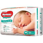 Huggies Platinum Diapers, NB, 30pcs
