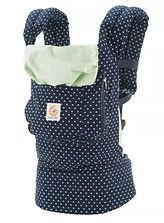 Ergobaby Original Baby Carrier, Indigo Mini Dots