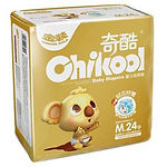 Chikool Gold Baby Diapers, M, 24pcs