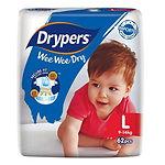 Drypers Wee Wee Dry, L, 62pcs