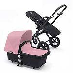 Bugaboo Cameleon 3 Stroller, Black, Soft Pink