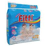 Fitti Jumbo Pack, M, 72pcs