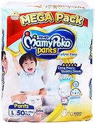 MamyPoko Extra Dry Skin Pants, L, 50pcs
