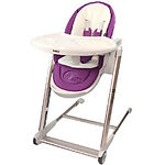 Puku Egg High Chair, Purple