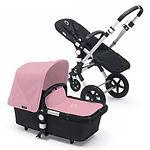 Bugaboo Cameleon 3 Stroller, Aluminium, Soft Pink